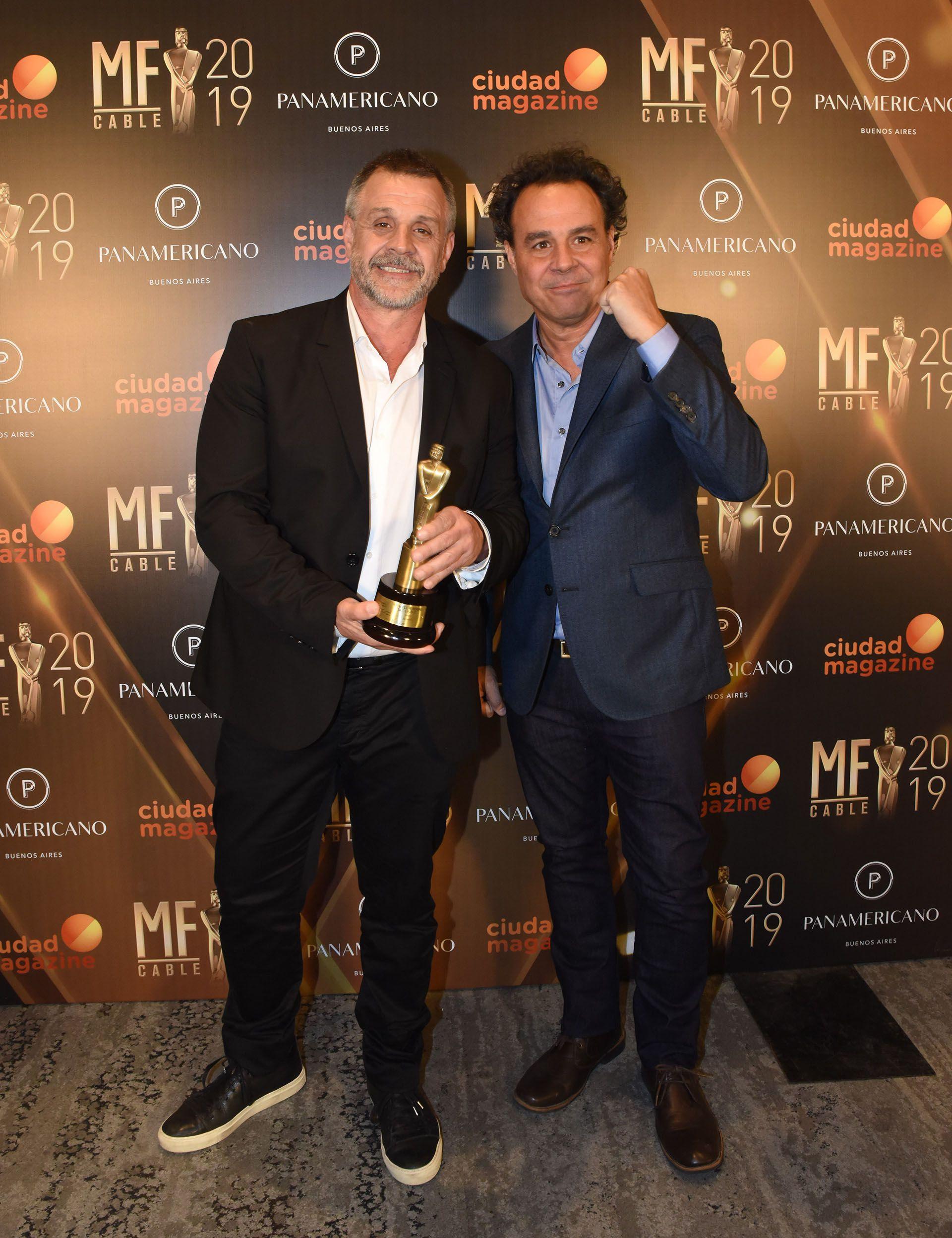 """Los hermanos Christian y Roberto Petersen, de """"Maestros del Asado, segunda temporada"""", ganador al mejor ciclo culinario"""