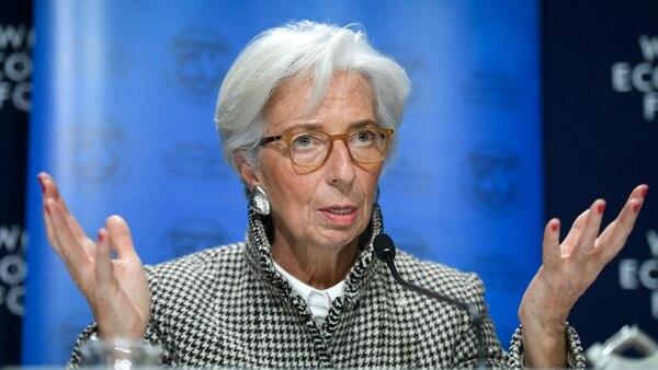 La directora del Fondo Monetario Internacional, Christine Lagarde (AFP)