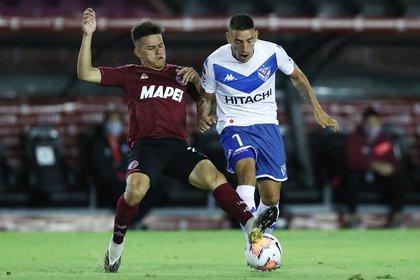 Ricardo Centurion fue uno de los mejores de Vélez (REUTERS/Agustin Marcarian).