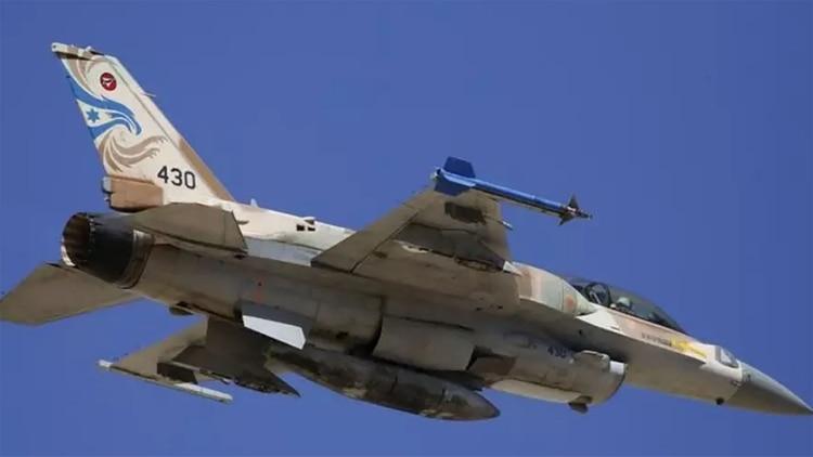 Un F-16 de las Fuerzas de Defensa de Israel (REUTERS)