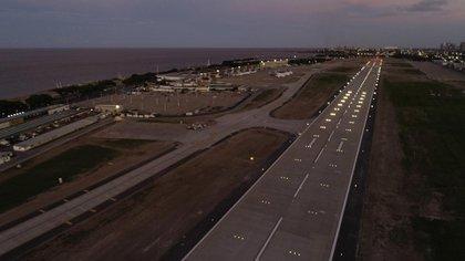 La nueva pista sumó 590 metros de largo y 20 metros de ancho