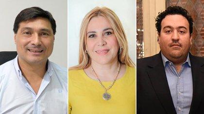 Pablo Ansaloni, Beatriz Ávila y Antonio Carambia