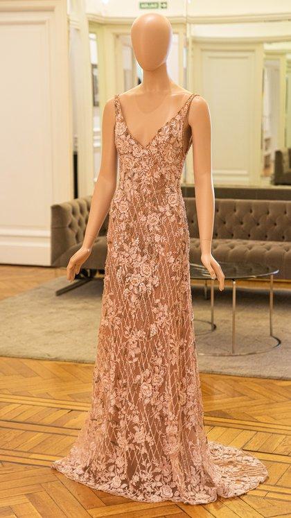 El vestido joya que propuso Gabriel Lage para esta Navidad