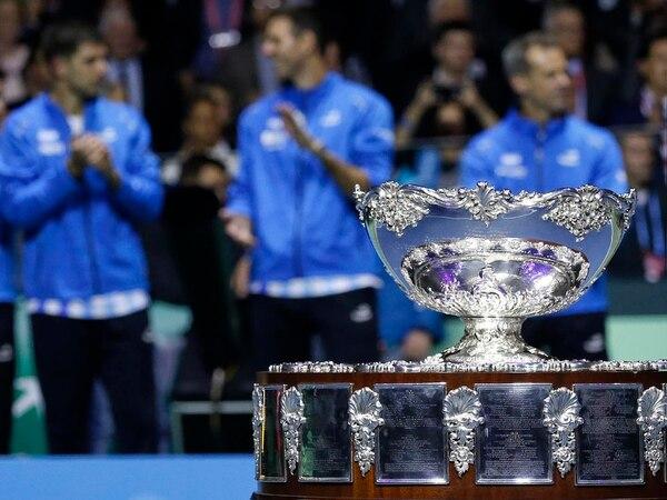 Argentina devolvió la Copa Davis tras una gira de 3.600 kilómetros