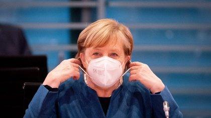 Angela Merkel anunció nuevas restricciones masivas en Alemania