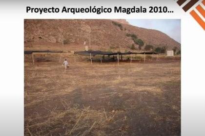 10 años de Magdala, el primer proyecto arqueológico mexicano en tierra bíblica. Foto: (Captura de pantalla)