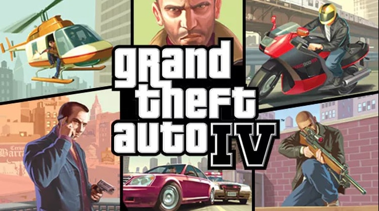 Grand Theft Auto IV se lanzó en 2008.
