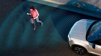 Incorpora una gran cantidad de los sistemas ADAS de ayuda a la conducción (Volkswagen)