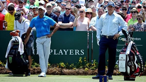 Tiger Woods y Phil Mickelson protagonizarán el duelo de la historia del golf (Foto: USA TODAY Sports)