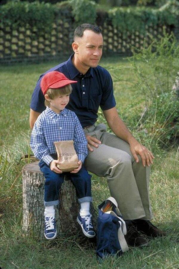 """Haley Joel Osment interpretó al hijo de Tom Hanks en """"Forrest Gump"""""""
