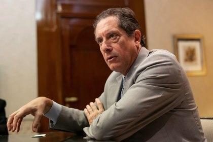 Miguel Pesce, presidente del Banco Central (María Amasanti/Bloomberg)