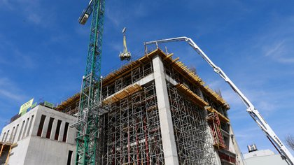 El sector de la construcción presentó un plan al Gobierno para volver a crecer (Reuters)