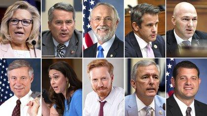 Quiénes son los 10 republicanos que apoyaron el impeachment contra Donald  Trump en la Cámara de Representantes - Infobae