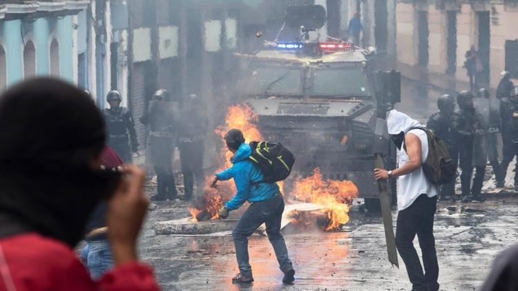 El jueves hubo serios incidentes (Reuters)