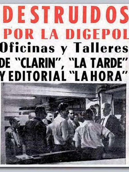 La Digepol no solo torturó sino censuró