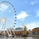 La rueda será construida en el Dique 1 de Puerto Madero