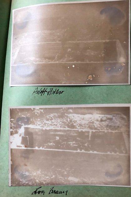 Restos del cuerpo de Hitler analizados en el informe soviético