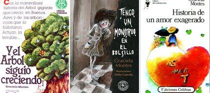 Algunos libros de Graciela Montes