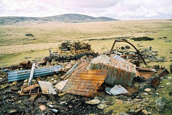 Los restos de Top Malo House