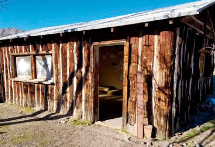 Una de las casas de Barker Ranch, donde vivió la Familia antes de los asesinatos