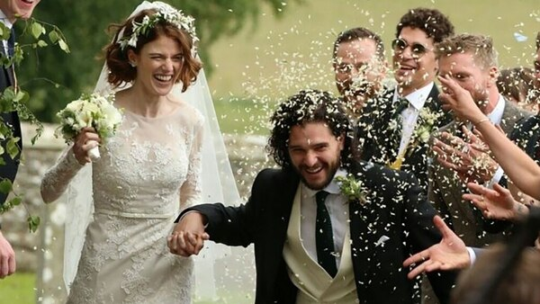 Kit Harington y Rose Leslie se casaron en junio de 2018