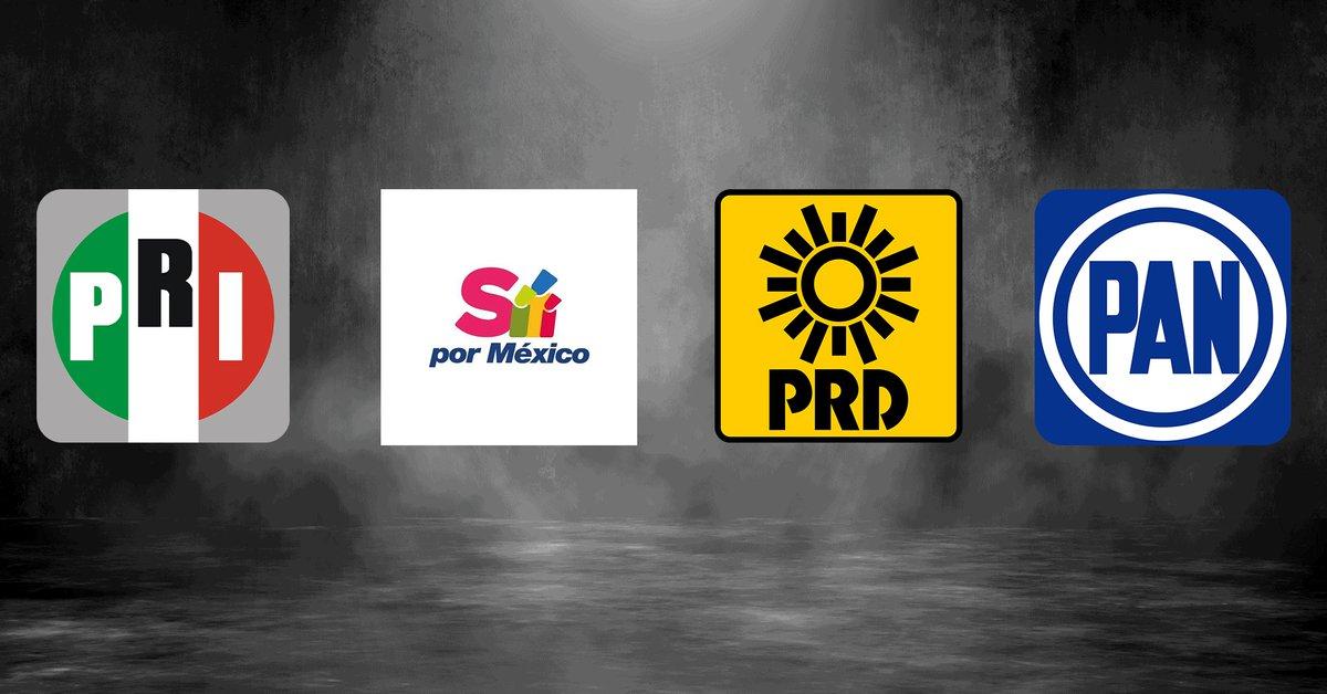 """Va por México"""": PRI, PAN y PRD registraron oficialmente su coalición ante el INE - Infobae"""