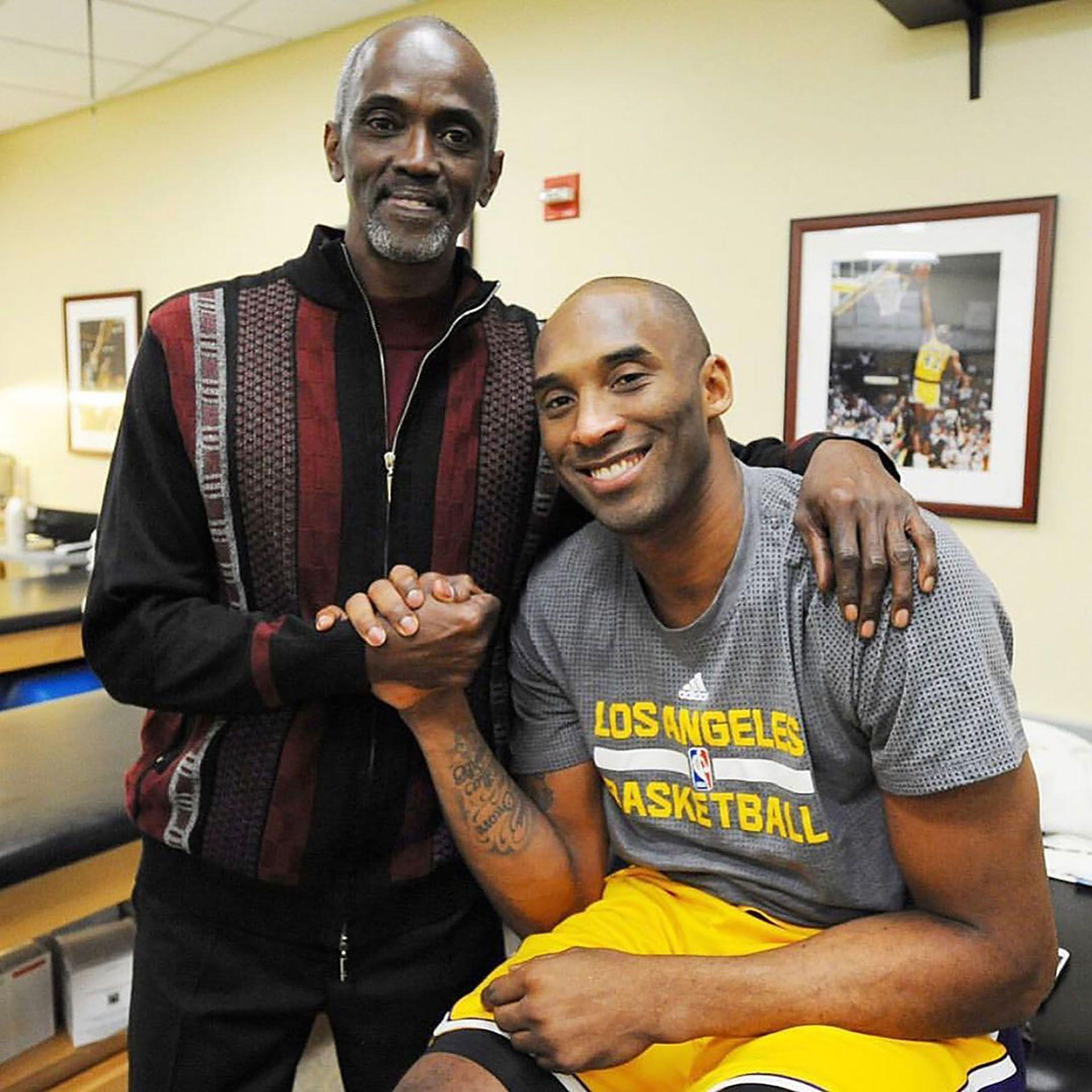 Craig Hodges con Kobe Bryant