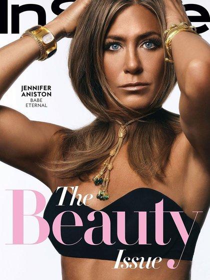 Jennifer Aniston realizó una nueva producción fotográfica y dejó un poderoso mensaje para las mujeres