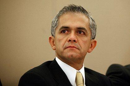 Miguel Angel Mancera, ex jefe de Gobierno de la Ciudad de México.