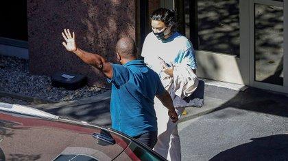 Demi Lovato reaparece públicamente tras terminar su compromiso con Max Ehrich. La cantante y el actor de The Young and the Restless se comprometieron en Malibú el pasado 22 de julio, cuatro meses después de que comenzaron a salir. Pero tuvieron muchos conflictos en las últimas semanas y decidieron seguir sus caminos por separado (Foto: Mega / The Grosby Group)