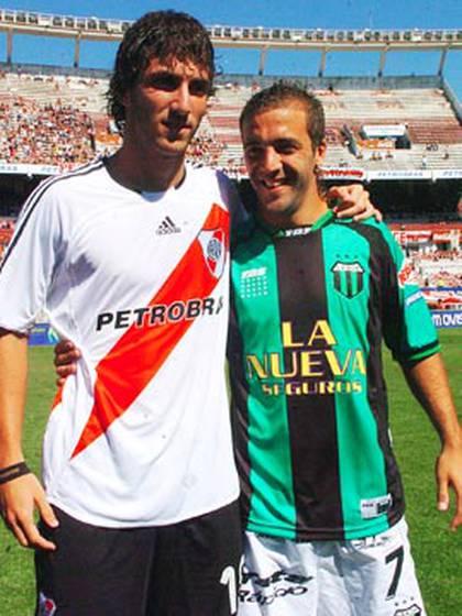 Gonzalo y Federico Higuaín, cara a cara (TELAM)