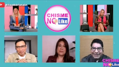 The journalists spoke about the various attacks they have suffered in recent weeks (Photo: Youtube @Chisme No Like)