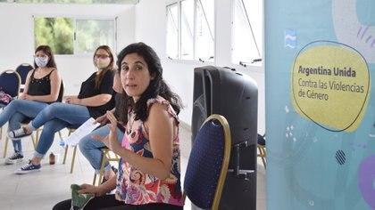 María del Valle Aguilar, directora nacional de Políticas de Prevención de las Violencias por Razones de Género del Ministerio de las Mujeres, Géneros y Diversidades