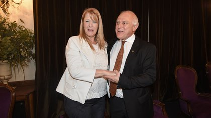 Margarita Stolbizer y Miguel Lifschitz(Nicolás Stulberg)