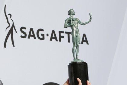Les SAG Awards ont maintenant fixé leur cérémonie 2021 au 4 avril pour ne pas coïncider avec les Grammys.  EFE / Archives