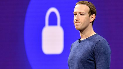 Mark Zuckerberg, el CEO de Facebook, durante una conferencia en San José, California. (AFP PHOTO / JOSH EDELSON)