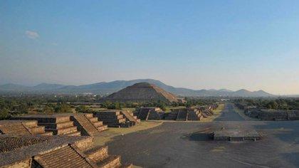 Teotihuacán es la zona que recibe más visitantes en el equinoccio de primavera (Foto: Mauricio Marat/ INAH)