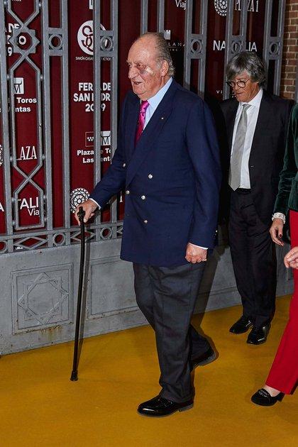 El rey emérito Juan Carlos en Madrid, España, en marzo de 2019 (Shutterstock)
