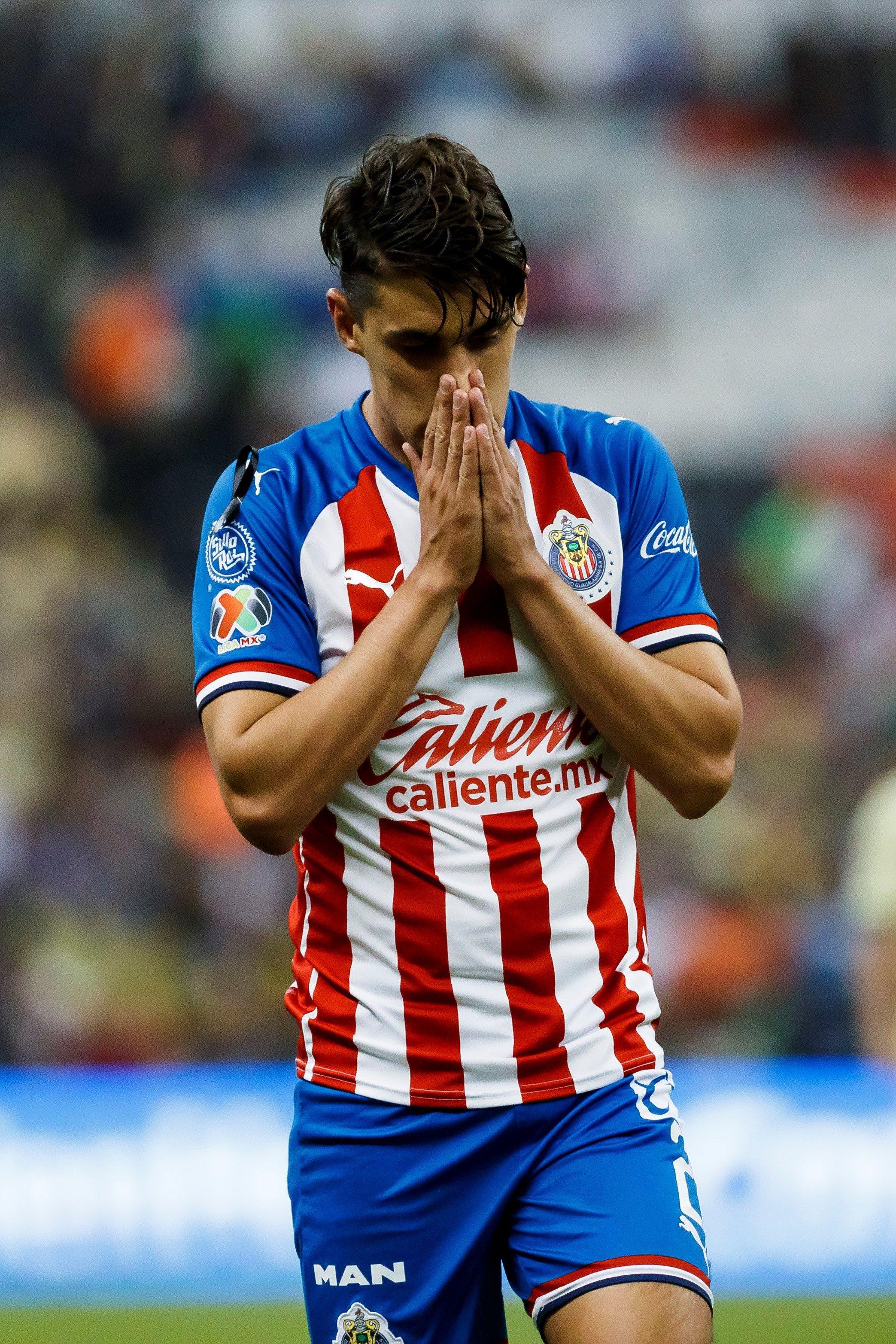 Chivas está en uno de los momentos más oscuros de su historia (Foto: EFE/José Méndez)