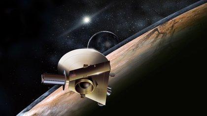 La sonda New Horizons ya ha transmitido las mejores imágenes de Plutón y de la luna Caronte en el borde lejano del sistema solar. National Geographic 163