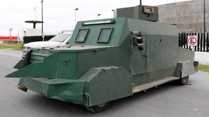Los vehículos con blindaje artesanal ya han sido decomisados antes (Foto: Twitter)