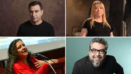 Sietecase, Moreno, Maffia y Alarcón.