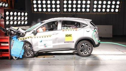 La nueva Honda HR-V recibió las calificaciones más altas en seguridad para adultos y niños