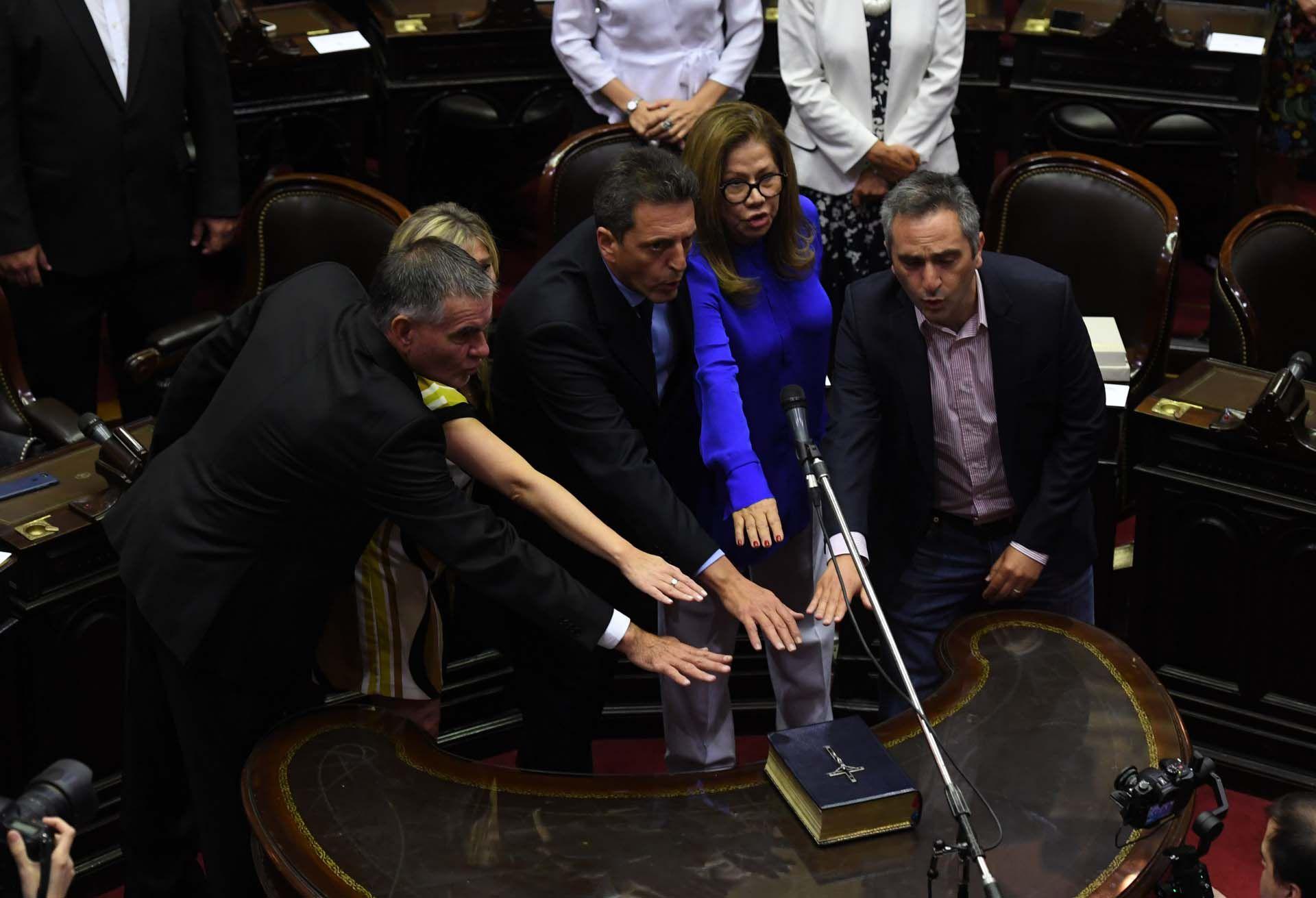 Castagnetto, Álvarez Rodríguez, Massa, Camaño, De Pedro