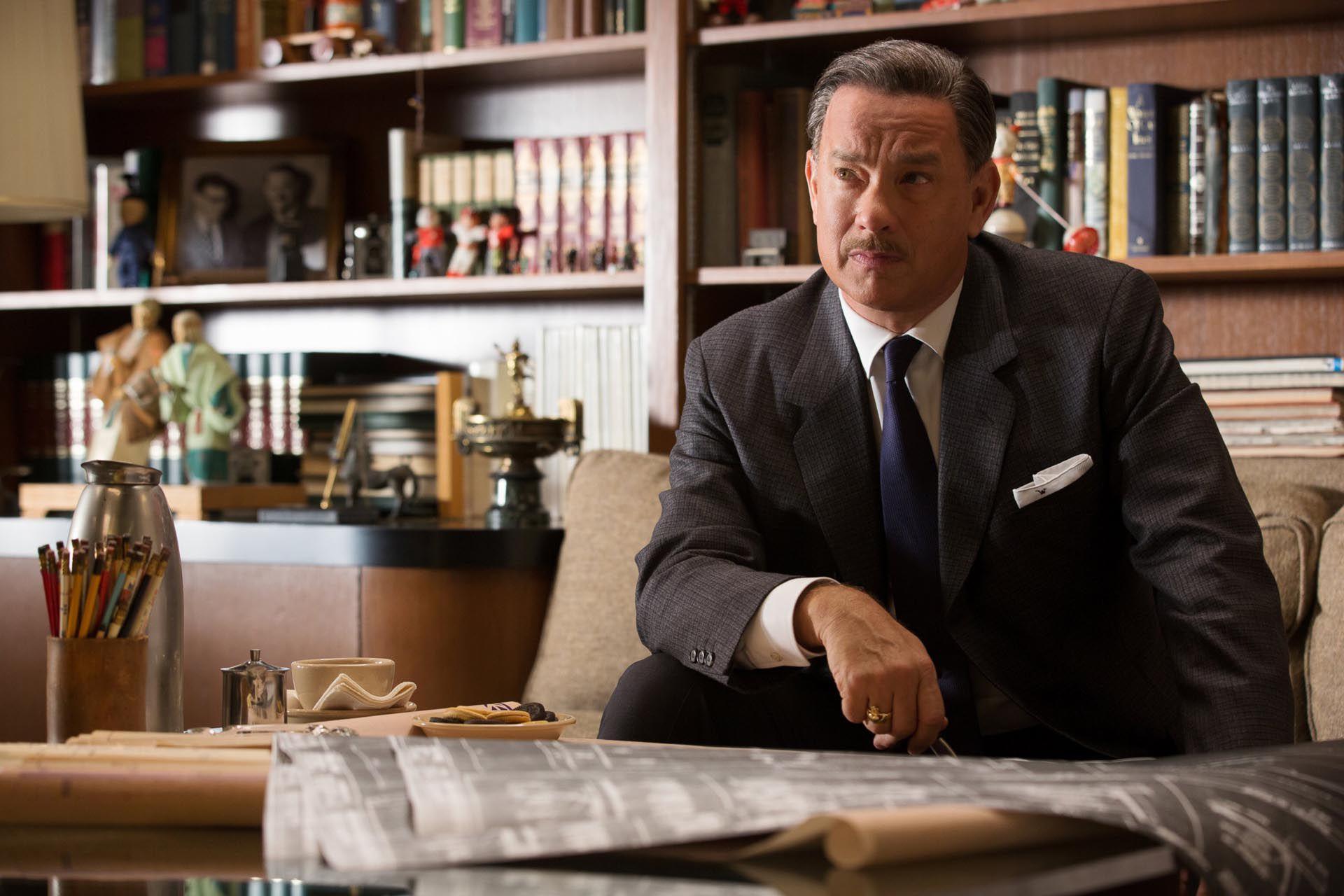 """Tom Hanks en """"El sueño de Walt"""""""