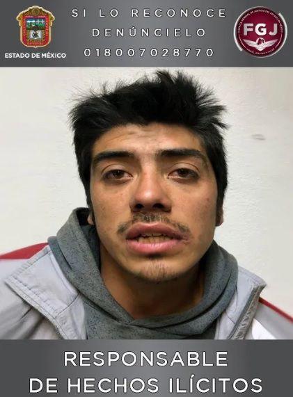 Este sujeto fue sentenciado a 70 años de prisión tras encontrarlo culpable de la violación y asesinato de una adolescente en el Estado de México Foto: Fiscalía de Justicia Edomex