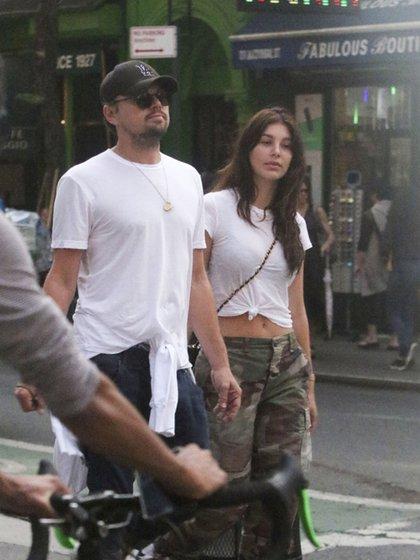 La argentina Camila Morrone defendió su relación con Leonardo DiCaprio (The Grosby Group)