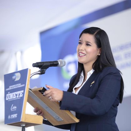 Sophia Huett, Comisionada de la Unidad de Análisis y Estrategia para la Seguridad Ciudadana de Guanajuato (Foto: Facebook/Sophia Huett)