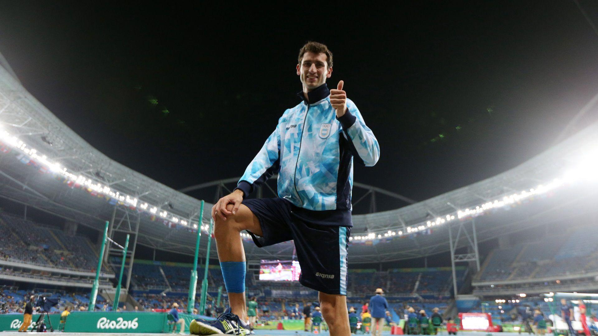 Germán Chiaraviglio iba a representar a Argentina en su tercer Juego Olímpico (Foto: Télam)