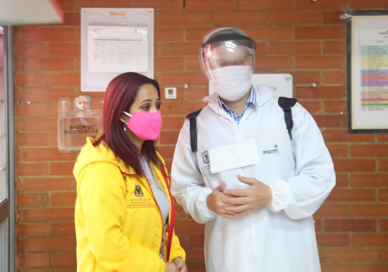 Jardines infantiles y colegios privados vuelven a las aulas en Bogotá